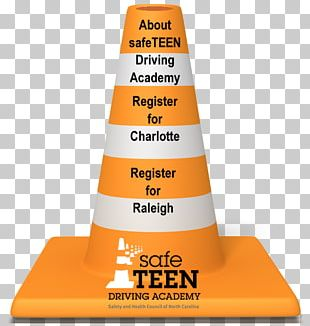 Traffic Cone Safety Orange PNG