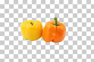 Yellow Pepper Chili Pepper Bell Pepper Food Vegetarian Cuisine PNG