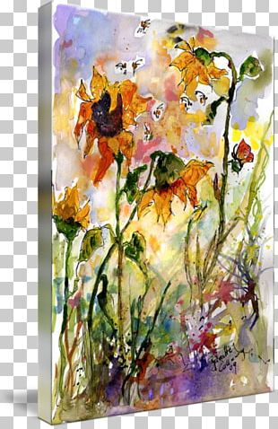 Floral Design Watercolor Painting Art Still Life Flower PNG