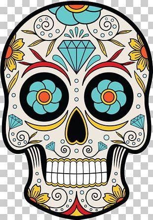 La Calavera Catrina Day Of The Dead Mexican Cuisine Skull PNG