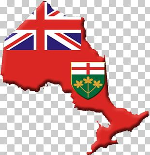 Flag Of Ontario Flag Of Australia Map PNG