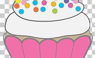 Cupcake Birthday Cake Muffin PNG