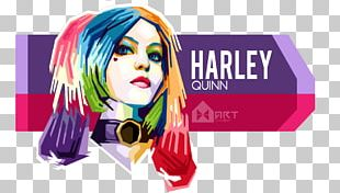Graphic Design Harley Quinn Digital Art WPAP PNG