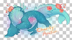 Marine Mammal Illustration Fundraising PNG