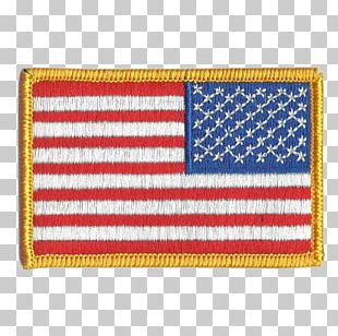 Flag Of The United States Flag Patch Embroidered Patch Military PNG