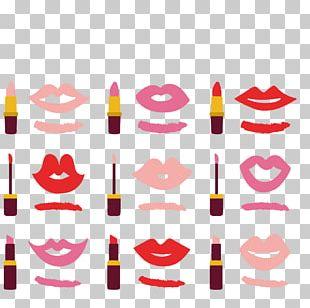 Lipstick Cosmetics Lip Gloss Make-up PNG