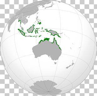 Australia Continent Papua New Guinea New Zealand Earth PNG