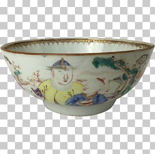 Chinese Export Porcelain Ceramic Tableware Bowl PNG