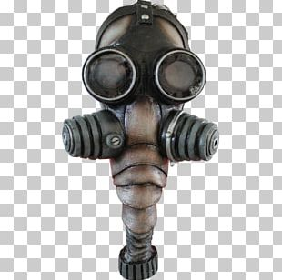 Gas Mask Halloween Costume Latex Mask PNG