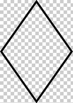 Rhombus Shape Geometry PNG