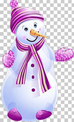 Snowman Christmas New Year Holiday PNG