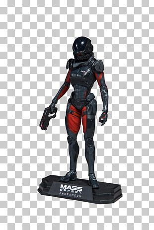 Mass Effect: Andromeda Mass Effect 3 Action & Toy Figures McFarlane Toys PNG