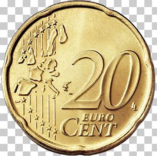 20 Cent Euro Coin 1 Cent Euro Coin Euro Coins PNG