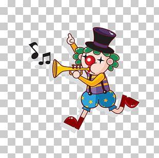 Circus Cartoon Clown PNG