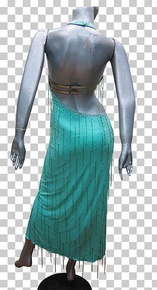 Costume Design Dress Teal PNG