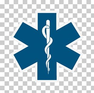 Star Of Life Emergency Medical Technician Emergency Medical Services Paramedic Logo PNG