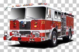 Fire Engine Red Firefighter Fire Department Firetrucks PNG