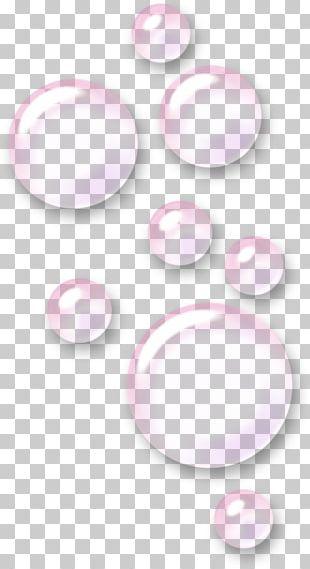Pink Foam Pattern PNG