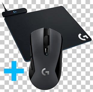 Computer Mouse Dell Logitech G Powerplay Wireless Charging System For G703 Logitech G603 Lightspeed Wireless Gaming Mouse PNG