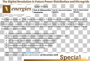 Smart Grid Electricity Energy Electric Power Internet Of Things PNG