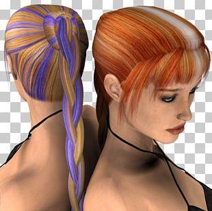 Brown Hair Hair Coloring Bangs Long Hair PNG