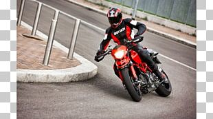 Ducati Hypermotard Motorcycle Streetfighter Sport Bike PNG