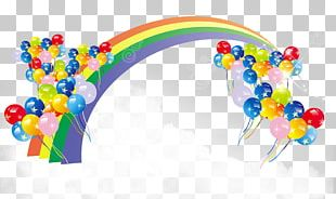 Balloon Color Rainbow PNG