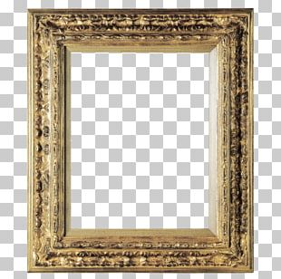 Frames Gold Leaf Mirror Decorative Arts PNG