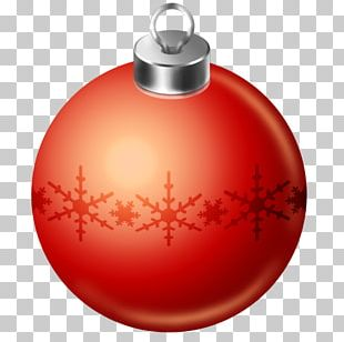 Orange Christmas Ornament Christmas Decoration PNG