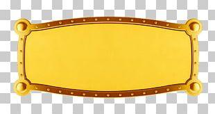 Banner Gold Illustration PNG