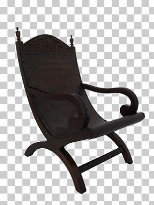 Wing Chair Garden Furniture Antique PNG