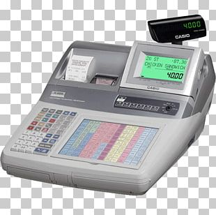 Cash Register Point Of Sale United Kingdom Casio Sales PNG