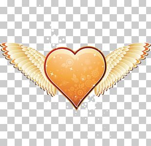 Heart Angel Valentines Day PNG