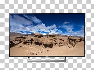 Bravia LED-backlit LCD 4K Resolution Television Set PNG