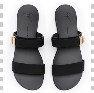 Slipper Sandal High-heeled Shoe Flip-flops PNG