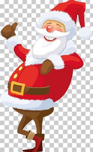 Santa Claus Christmas Card Greeting & Note Cards PNG
