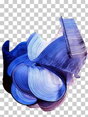 Paintbrush Paintbrush Texture Blue PNG