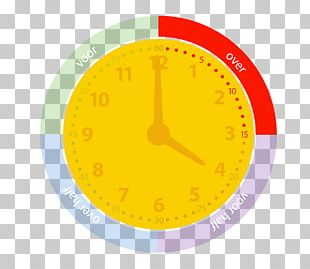Clock Hour Minute Analog Signal Time PNG