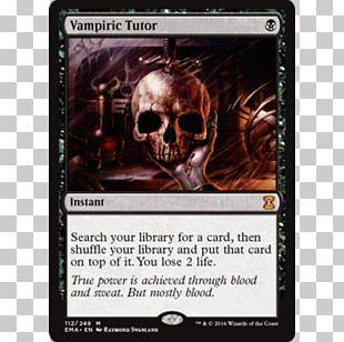Magic: The Gathering Online Magic: The Gathering Commander Vampiric Tutor Playing Card PNG