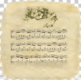 Sheet Music Manuscript Paper Musical Note PNG