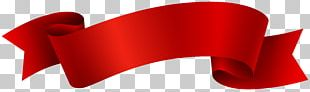 Banner Red Ribbon PNG