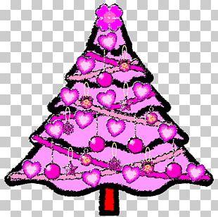 Christmas Tree Christmas Ornament Christmas Card Santa Claus PNG