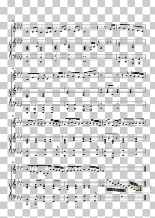 Sheet Music Everytime We Touch Song Numbered Musical Notation Choir PNG