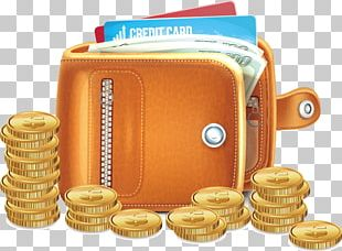Wallet Gold Coin Money PNG