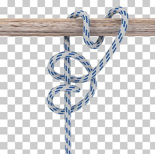Knot Round Turn And Two Half-hitches Half Hitch PNG