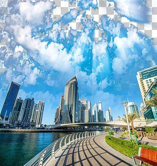 Dubai Marina Photography PNG