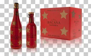 Liqueur Glass Bottle Wine Sangria PNG