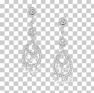 Earring Boucheron Jewellery Diamond Pendant PNG