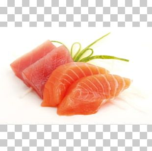 Sashimi Smoked Salmon Lox Crudo Fish Slice PNG