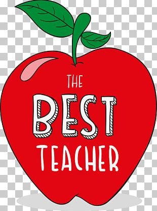 Teachers Day Student Apple PNG